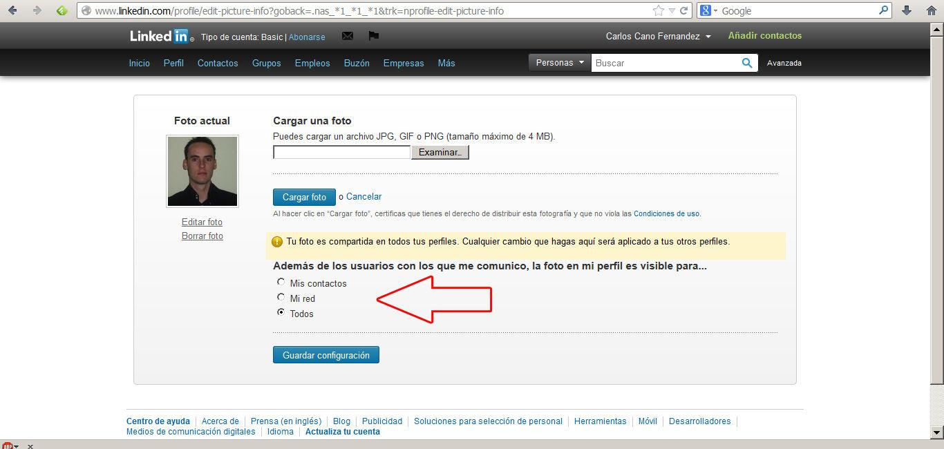 encontrar trabajo en Linkedin 5
