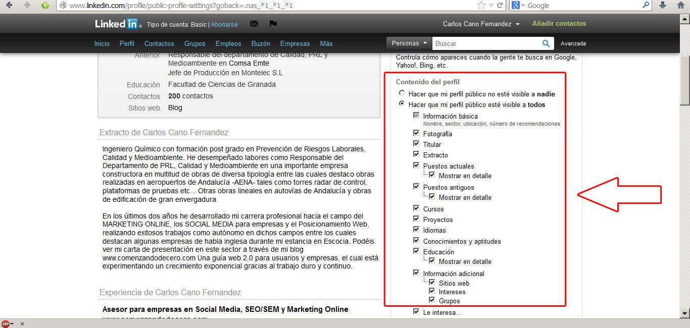 encontrar trabajo en Linkedin 7