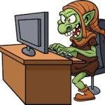 troll en las redes sociales