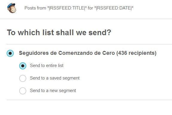 Enviar entradas a lista de suscriptores 2