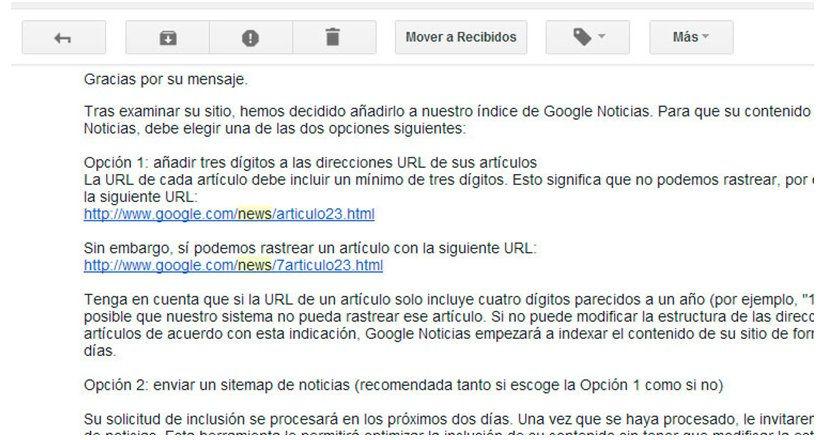 Darse de alta en Google News