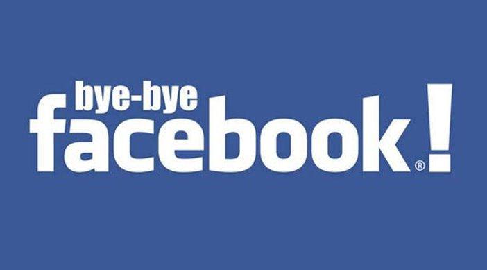 Adios de facebook