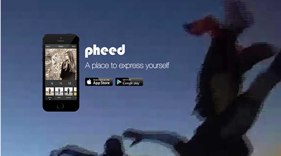Pheed social media moviles