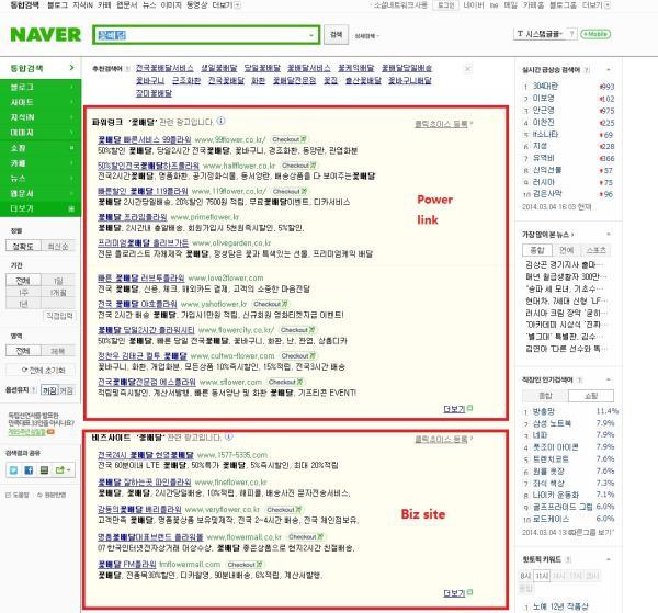 Anuncios en NAver de pago