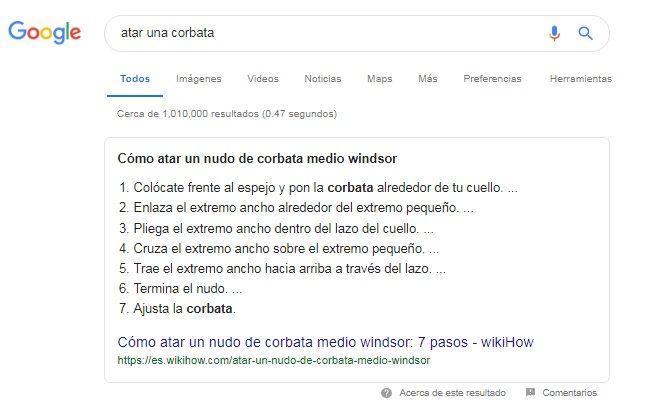 Microdatos how to Google