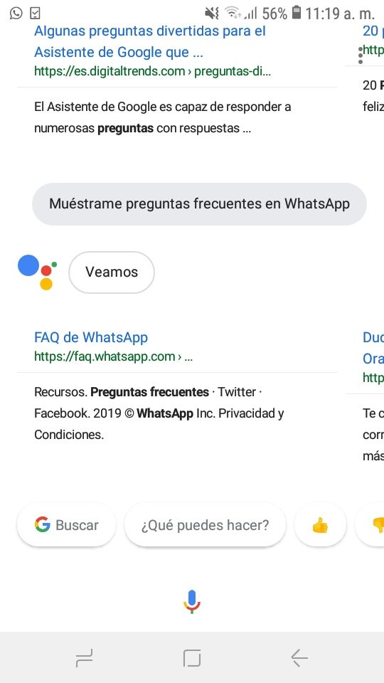 Datos estructurados voice search